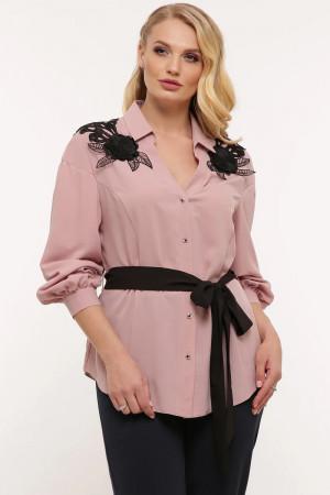 Блуза «Франческа» цвета пудры