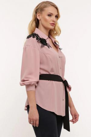 Блуза «Франческа» кольору пудри