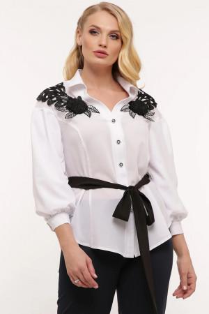 Блуза «Франческа» белого цвета