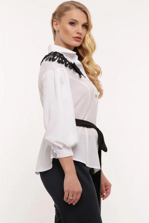 Блуза «Франческа» білого кольору