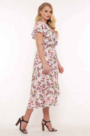 Платье «Сафина» цвета пудры