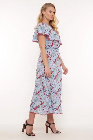 Платье «Сафина» голубого цвета