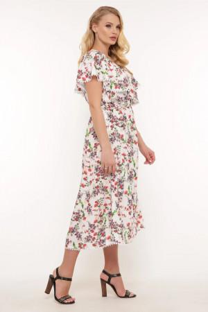 Платье «Сафина» белого цвета