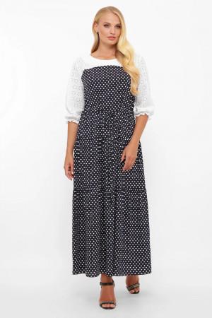 Сукня «Росава» з принтом-горох
