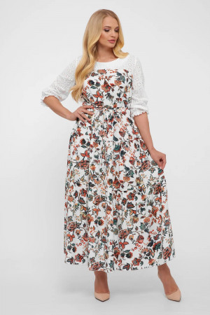 Сукня «Росава» з квітковим принтом