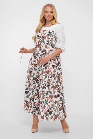 Платье «Росава» с цветочным принтом