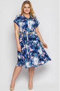 Сукня «Альміра» з принтом-іній