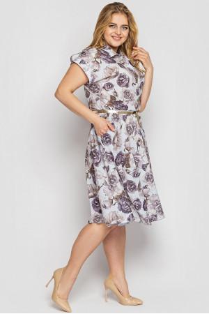 Сукня «Альміра» попелястого кольору