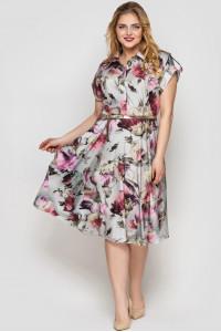 Сукня «Альміра» з принтом-літо