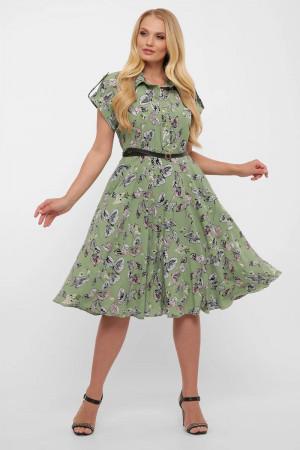 Платье «Альмира» зеленого цвета