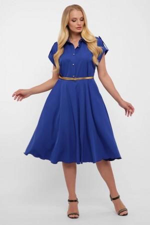 Платье «Альмира» цвета электрик