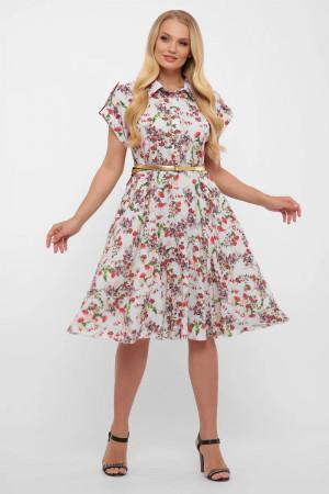 Платье «Альмира» белого цвета