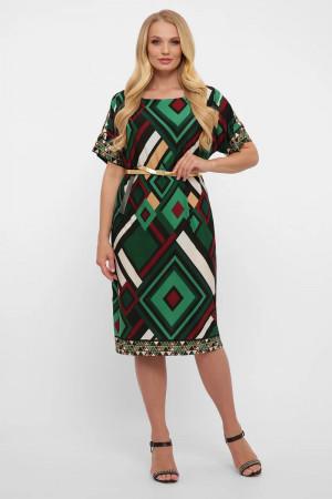 Платье «Дэниз» изумрудного цвета