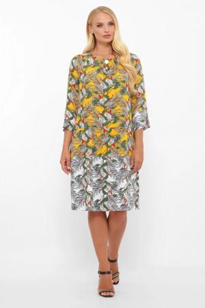 Сукня «Ілона» кольору гірчиці