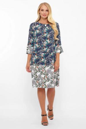 Сукня «Ілона» з принтом