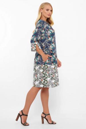 Платье «Илона» с принтом