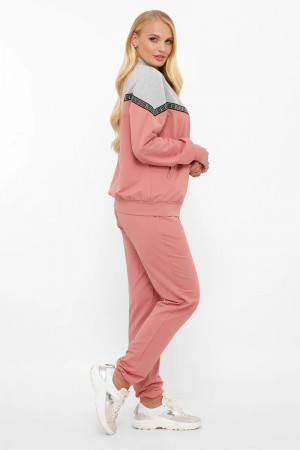 Спортивный костюм «Глория» цвета пудры