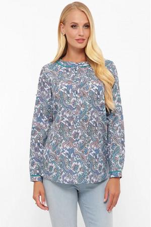 Блуза «Бэтти» голубого цвета