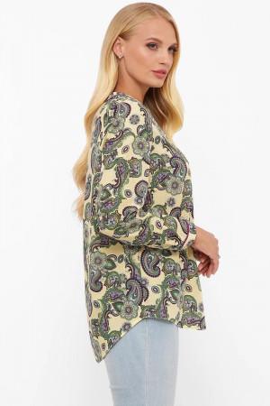 Блуза «Бетті» кольору лайм