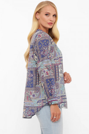 Блуза «Бетті» з принтом