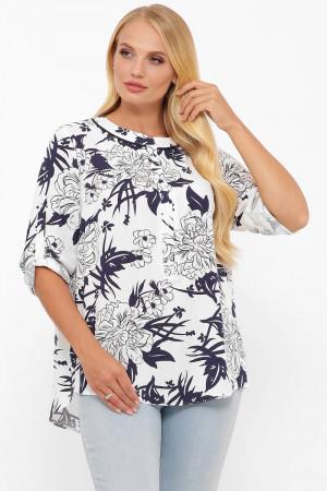 Блуза «Бетті» з квітковим принтом