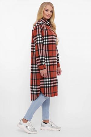Сорочка-сукня «Карла» кольору вохри