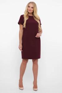 Сукня «Іден» кольору бордо