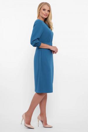 Платье «Мадина» бирюзового цвета