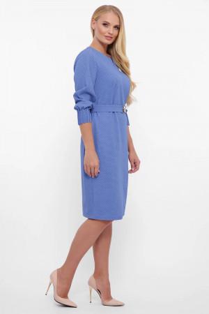 Платье «Мадина» василькового цвета