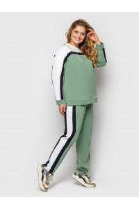 Спортивний костюм «Ліна» кольору м'яти