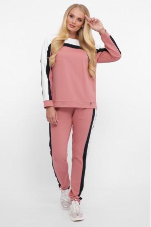 Спортивный костюм «Лина» цвета пудры