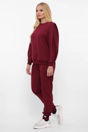 Спортивный костюм «Карин» цвета бордо