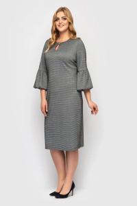Платье «Пари» серого цвета