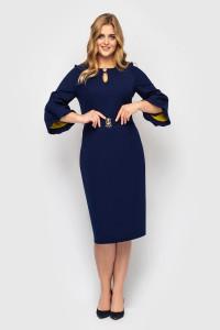 Сукня «Парі» синього кольору