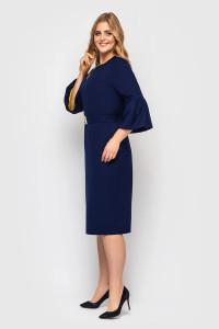 Платье «Пари» синего цвета