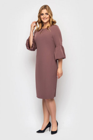 Платье «Пари» шоколадного цвета
