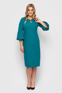 Платье «Пари» бирюзового цвета