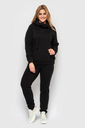 Спортивный костюм «Аврора» черного цвета