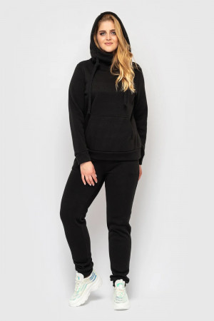 Спортивний костюм «Аврора» чорного кольору
