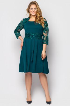 Платье «Кэрол» изумрудного цвета