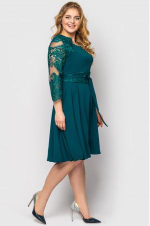 Сукня «Керол» смарагдового кольору