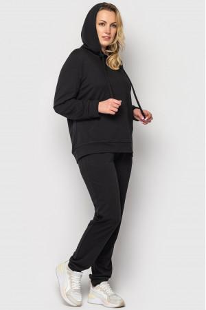 Спортивный костюм «Венера» черного цвета