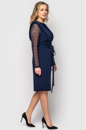Платье «Беатрис» синего цвета