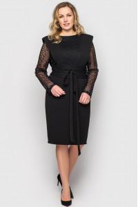 Платье «Беатрис» черного цвета