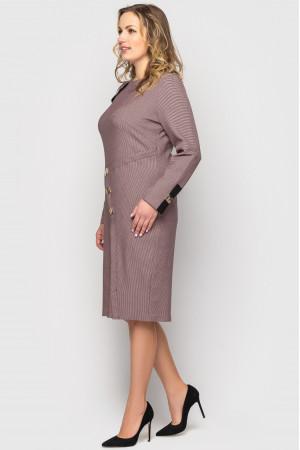 Платье «Аурика» цвета пудры