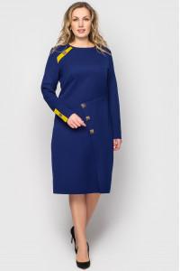Сукня «Ауріка» синього кольору