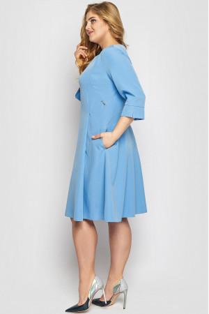 Платье «Милаша» голубого цвета