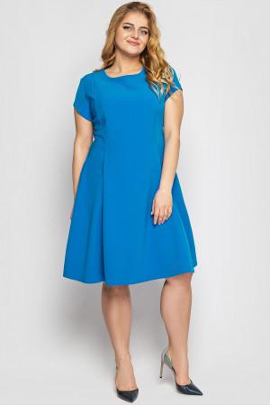 Платье «Милаша» василькового цвета
