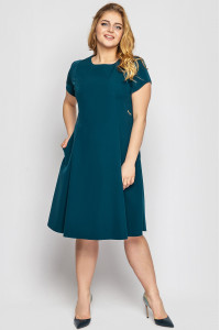 Сукня «Мілаша» смарагдового кольору