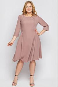 Сукня «Мілаша» кольору пудри